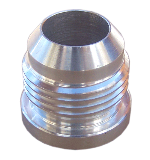 An mild steel weld on fitting  locash racing